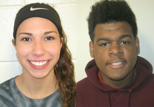 Brianna Ogonowski and Devon Dawson 11-27-17