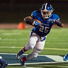 10/20/17  Wesley Bunnell | Staff<br /> <br /> New Britain vs Southington football on Friday evening at Southington High School.  Ryan Montalvo (25) with a touchdown run.
