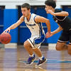 12/21/17  Wesley Bunnell | Staff<br /> <br /> Southington basketball defeated Farmington on Thursday night at Southington High School. Colin Burdette (3).