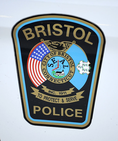 3/14/2014 Mike Orazzi   Staff<br /> Bristol police car door.
