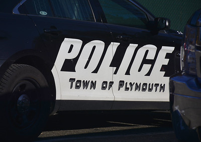 1/8/2015 Mike Orazzi | Staff A Plymouth Police Car.