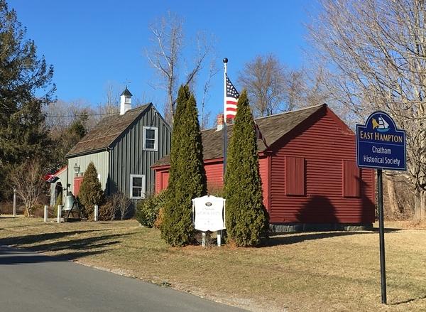 East Hampton Chatham Historical Society Museum & Schoolhose Cheryl Gioielli