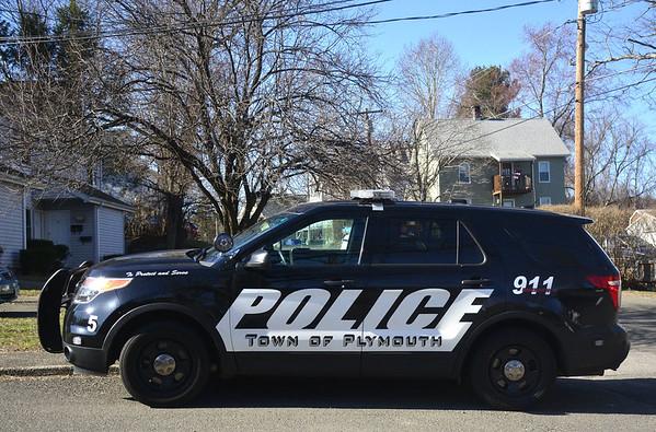 Plumouth police SUV