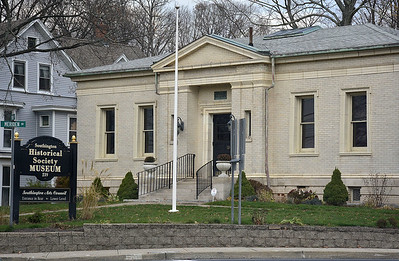 11/18/2015 Mike Orazzi | Staff The Southington Historical Society Museum.