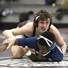 1/31/2018 Mike Orazzi   Staff<br /> Bristol Central's Chris Trelli and Platt's Isaiah Ross during Wednesday night's match at BC.