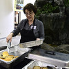 2/25/2017 Mike Orazzi | Staff<br /> Kate Houlihan serves fresh pancakes during the 7th Annual Maple Sugaring and Pancake Breakfast Fundraiser at Indian Rock Nature Preserve in Bristol Saturday morning.