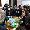 2/16/2017 Mike Orazzi | Staff<br /> Eileen Norkun explains how the Bristol Water Treatment Plant works to students from the Chippens Hill Middle School during a tour Thursday morning.