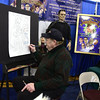 2/18/2017 Mike Orazzi | Staff <br /> Witch's Dungeon Classic Movie Museum's Cortlandt Hull during the 32nd Annual Bristol Home & Business Show held at Bristol Eastern High School Saturday.