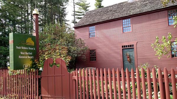 Noah Webster's house Joyce Petrella