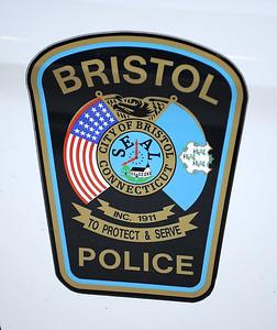 3/14/2014 Mike Orazzi | Staff Bristol police car door.