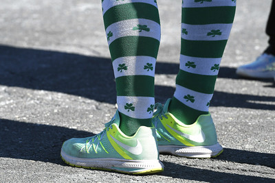 3/17/2018 Mike Orazzi | Staff The 16th Annual Shamrock Run and Walk held at the Chippens Hill Middle School Saturday morning.