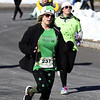 3/17/2018 Mike Orazzi | Staff<br /> Carole Seagrave during the 16th Annual Shamrock Run and Walk held at the Chippens Hill Middle School Saturday morning.