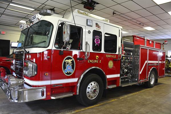 Terryville fire truck