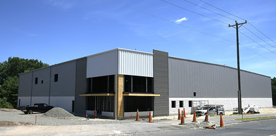 6/19/2018 Mike Orazzi   Staff The new building on Northwest Drive is an expansion by GPA, a paper company in Plainville.