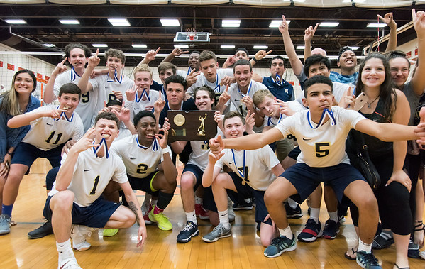 Newington boys volleyball