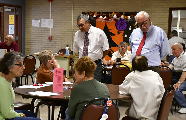 The bristol press candidates make their pitches during meet and 1032018 mike orazzi staff kevin fuller and whit betts during a meet and greet with candidates at the bristol senior center wednesday m4hsunfo