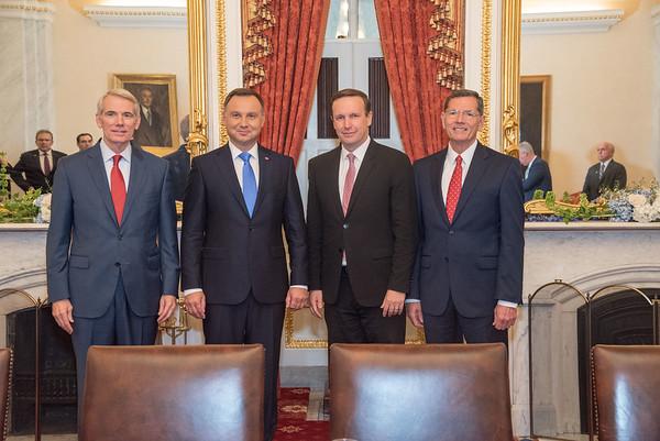 Polish president Washington D.C. visit