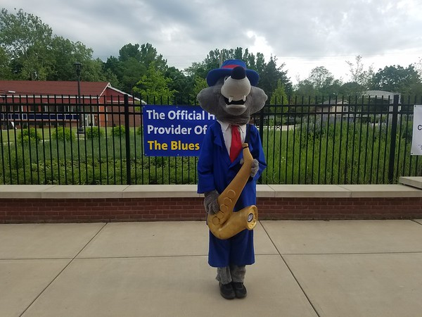 The Bristol Blues Mascot