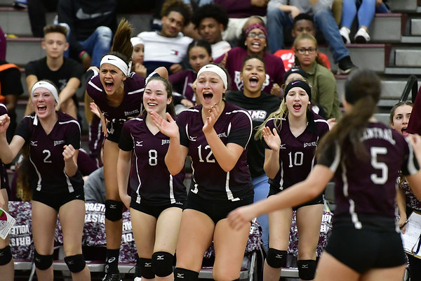 Central girls volleyball 10-10-18