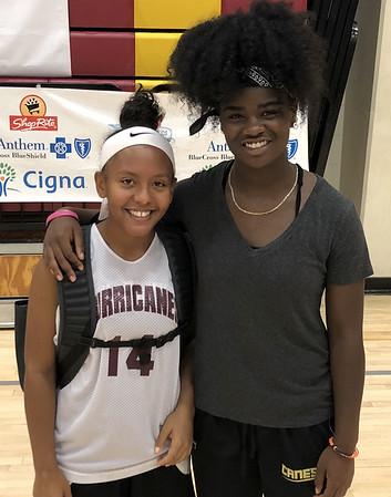 Inanna Rice and Saniya Pellegrini