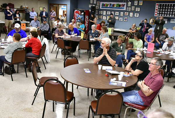 The bristol press candidates make their pitches during meet and 1032018 mike orazzi staff a meet and greet with candidates at the bristol senior center wednesday m4hsunfo