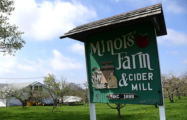4/28/2017 Mike Orazzi | Staff<br /> Minor's Farm on Hill Street in Bristol.