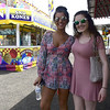 4/29/2017 Mike Orazzi | Staff<br /> Sisters Marissa and Hannah Krayeski check out the United Way carnival in downtown Bristol Saturday.