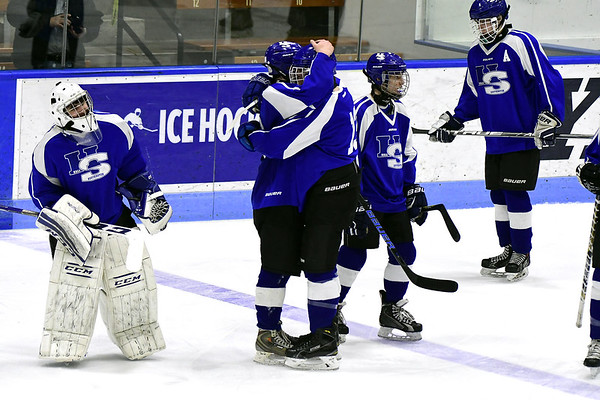 Hall-Southington boys hockey