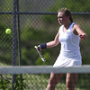 5/19/2017 Mike Orazzi | Staff<br /> Bristol Eastern's Federica Castaldi during tennis Friday at BC.