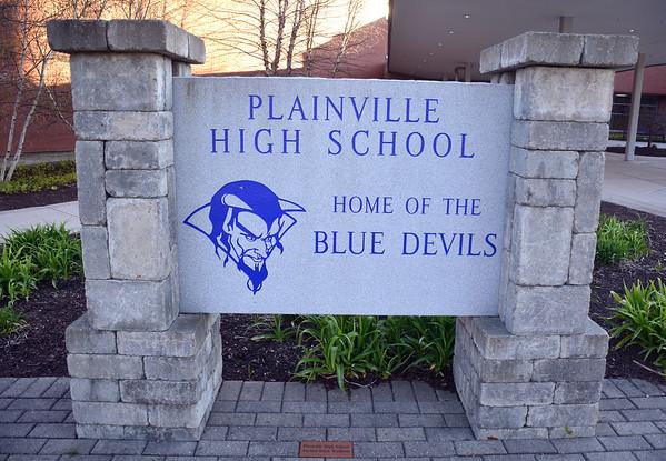 4/20/2016 Mike Orazzi   Staff Plainville High School Wednesday night.