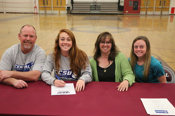 Brianna Hamel and family