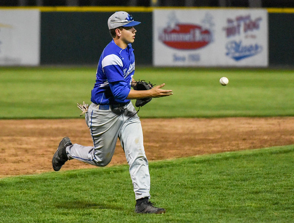 050117  Wesley Bunnell | Staff  Bristol Eastern baseball defeated Bristol Central at Muzzy Field on Monday evening.  Bristol Eastern MacGregor Goulet (10).