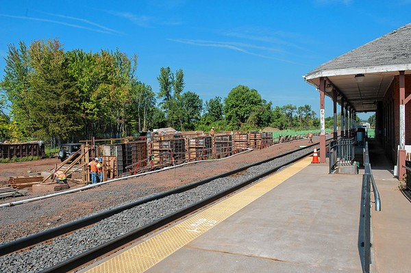Sept. 16, 2015 - The train station in Berlin is going thru major renovations. (Ray Shaw Special to the Herald)