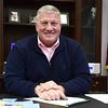 1/31/2017 Mike Orazzi | Staff<br /> Bristol Mayor Ken Cockayne at city hall Tuesday.