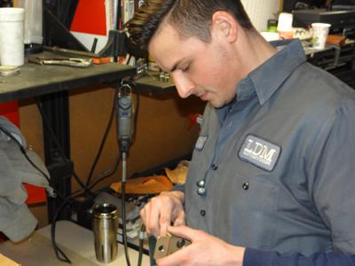 Eric Stadalnik Inspecting