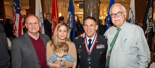 Hartford - Today, the CT Dept of Veterans Affairs hosted The CT Veterans Hall of Fame Class of 2019 Induction Ceremony at the Legislative Office Building, December 6, 2019. Photos Joseph Lemieux, Jr. CT Senate Republicans.