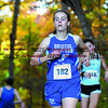 101916  Wesley Bunnell | Staff<br /> <br /> The CCC Cross Country Championships were held at Wickham Park in Manchester on Wednesday afternoon. Bristol Eastern's Jillian LeBeau, #182, finished 110th overall.