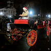12/2/2016 Mike Orazzi | Staff<br /> Horse drawn carriage rides during the Southington Hospitality Night held on the town greens in Plantsville and Southington Friday evening.