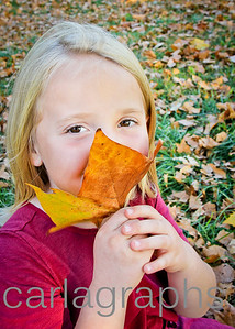Kate with Leaf-1