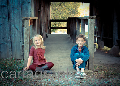 Kids on Barn Ramp 2-1