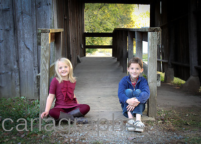 Kids on Barn Ramp-1-2