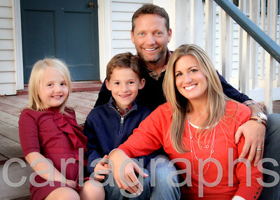 Fam on Stairs-1