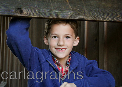 Jake Posing at the Barn-1