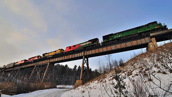 Montreal Maine & Atlantic, crude oil #606, Eastman Qc