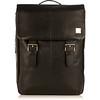 Hudson Leather Backpack 54-400-BLK