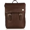 Hudson Leather Backpack 54-400-BRN