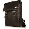 Hudson Leather Backpack 54-400-BLK