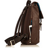 Hudson Leather Backpack 54-400-BRN