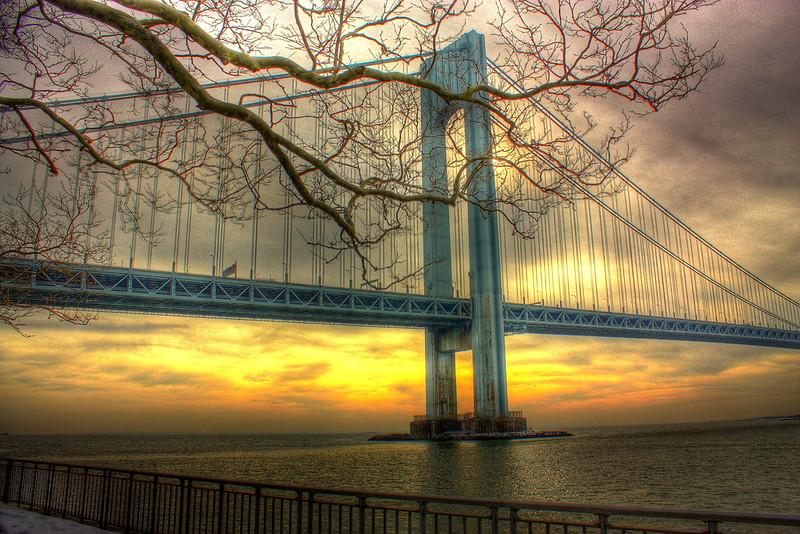Verranzano Bridge, Brooklyn  -- click image for larger view