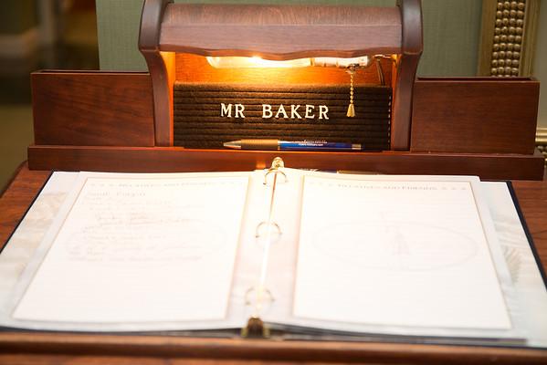 Bryce Baker Funeral